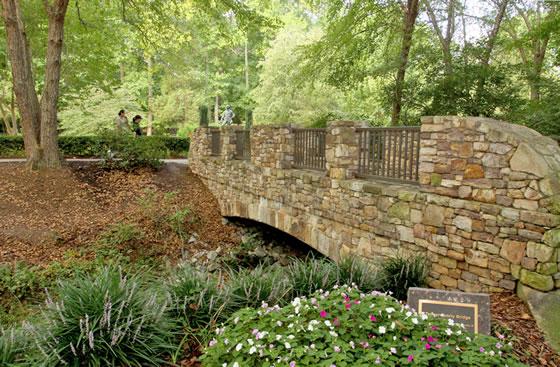 Tanger Family Bicentennial Garden Greensboro Convention