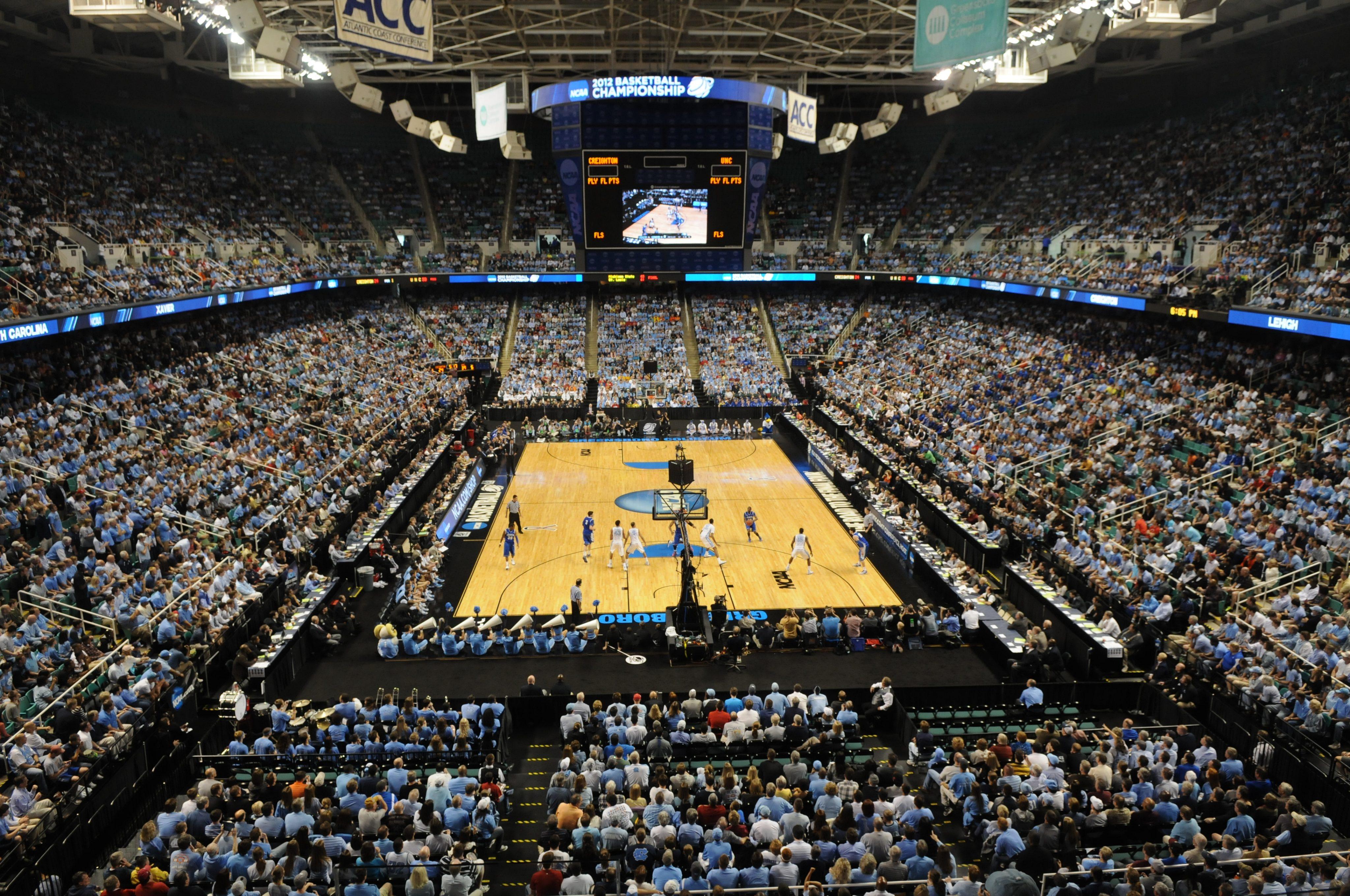 Greensboro Coliseum Arena Greensboro Convention And