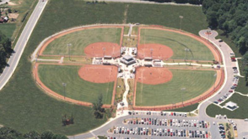 Carolyn Allen Park Kernodle Middle School Ballfields