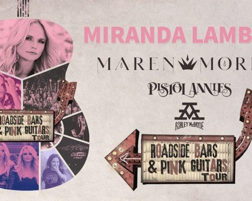 Miranda Lambert Pink Guitars