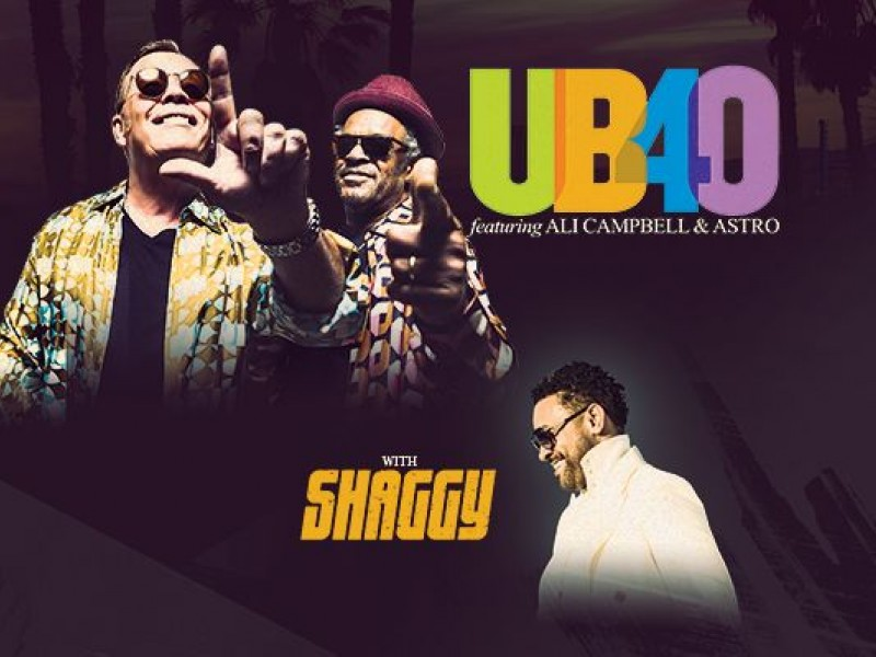 UB40 Featuring Ali Campbell, Astro with Shaggy - Greensboro