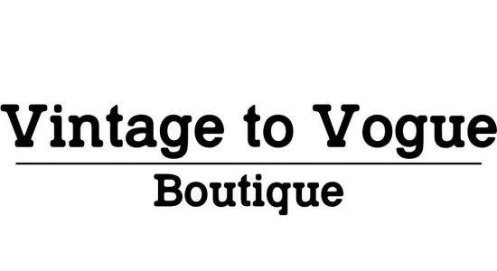 Vintage to Vogue Boutique