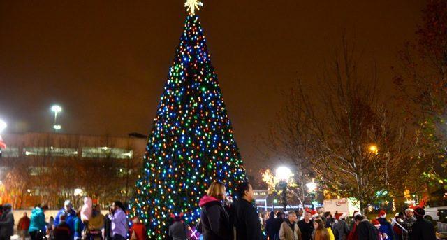 Downtown Greensboro Christmas