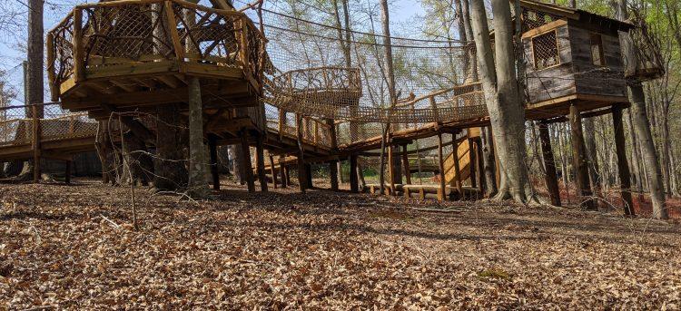 Kiwanisaurus Treehouse Adventure Opens April 22
